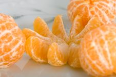 Free Peeled Tangerines Royalty Free Stock Image - 3908656