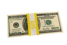 Free Banded One Hundred Dollar Bills Stock Image - 3908791