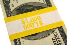 Free Banded One Hundred Dollar Bills Stock Images - 3908794