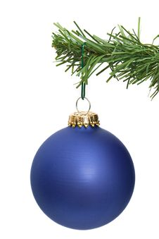 Free Blue Ornament Hanging Stock Photo - 3909420