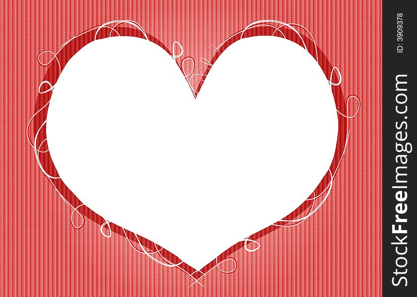 Valentine S Day Heart Shaped Frame - Free Stock Images & Photos ...