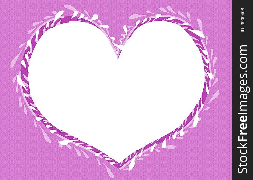 Valentine S Day Heart Shaped Frame 2 - Free Stock Images & Photos ...