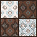 Free Damask Pattern. Set Stock Images - 39051864