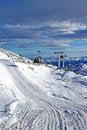 Free Gondola Lift Under Clouds Stock Images - 3910724