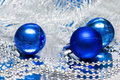 Free Blue Christmas Balls Stock Photos - 3919333