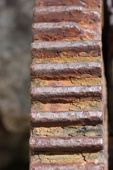 Free Rusty Cogwheel Detail Royalty Free Stock Photo - 3910195