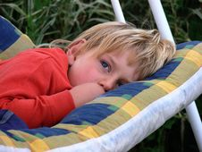 Free Dreaming Boy Royalty Free Stock Photo - 3910365