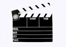 Free Clapper Board Royalty Free Stock Images - 3910859