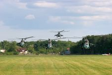 Free Helicopters On War Stock Photography - 3911192