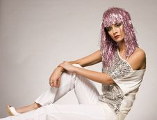 Free Carnival Girl Royalty Free Stock Photography - 3912347