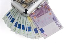 Free Euro Money In A Box On A White Background. Royalty Free Stock Photo - 3912455