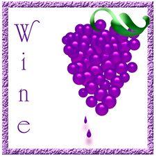 Wine Sign Stock Photos