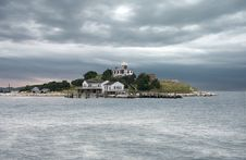 Island Lighthouse Stock Images
