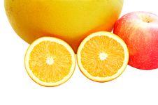 Free Half Oranges Stock Images - 3913914