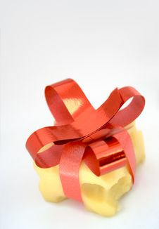 Free Cheese Present Stock Photography - 3915452