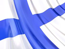 Free Glossy Flag Of Finland Royalty Free Stock Photo - 3916335