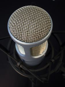 Professional Microphone-Close Royalty Free Stock Photos