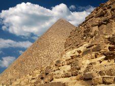 Free Giza Stones Royalty Free Stock Photos - 3916668