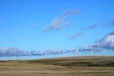 Free Windmills Royalty Free Stock Photo - 3916895
