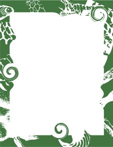 Free Abstract Green Frame Stock Photo - 3916960