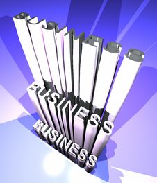 Business Growing Royalty Free Stock Photography