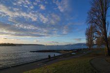 Free Sunset At English Bay Stock Photo - 3917680