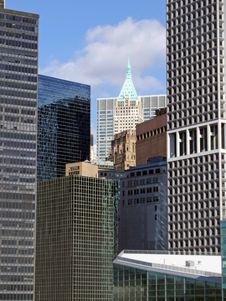 Free Downtown Manhattan Royalty Free Stock Images - 3919069