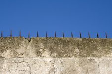 Free Spears On Wall Stock Photo - 3919250