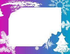 Free Winter Frame Stock Image - 3919331