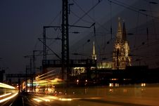 Cologne City Royalty Free Stock Images