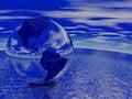 Free Globe Render Royalty Free Stock Images - 3925599