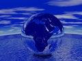 Free Globe Render Royalty Free Stock Image - 3925616