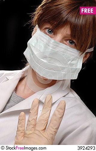 Free Nurse / Doctor In Mask Stock Photos - 3924293