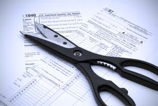 Free Cutting Taxes Stock Photo - 3920430