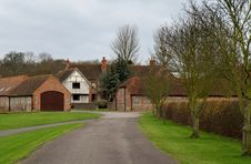English Country Estate Royalty Free Stock Photos