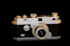 Free Old Camera Royalty Free Stock Photos - 3921728