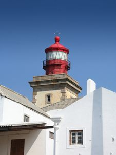 Free Lighthouse At Cabo De Rocka Royalty Free Stock Photos - 3921748