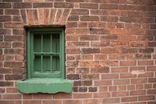 Free Green Window Frame Stock Photos - 3921913