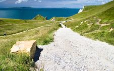 Free Gravel Road Leading To Durdle Door Stock Images - 3922264