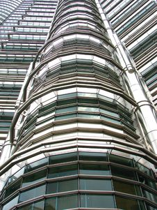 Free Petronas Tower Facade Detail Royalty Free Stock Image - 3922896