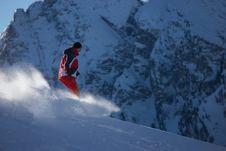 Free Skier Stock Image - 3923461