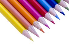 Free Closeup Pencils In A Row Stock Images - 3923614