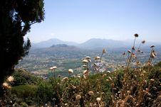 View Of Liri Valley, Italy Royalty Free Stock Photos