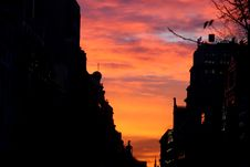 Free Madrid By Night Stock Image - 3924391