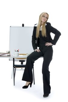 Free Bussines Woman  Working Stock Photos - 3924963