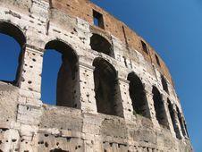 Free Famous Colosseum - Flavian Amphitheatre, Rome, Ita Royalty Free Stock Photography - 3925027