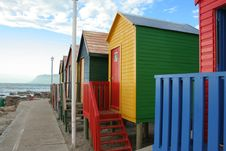 Free Cabins On The Beach. Royalty Free Stock Image - 3925706