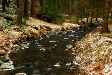 Free Winter River Landscape Royalty Free Stock Images - 3925979