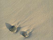 Free Stones In Sand Stock Photo - 3926190