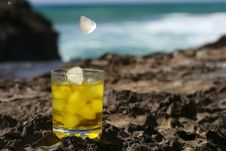 Free Scotch On The Rocks Royalty Free Stock Photography - 3926557